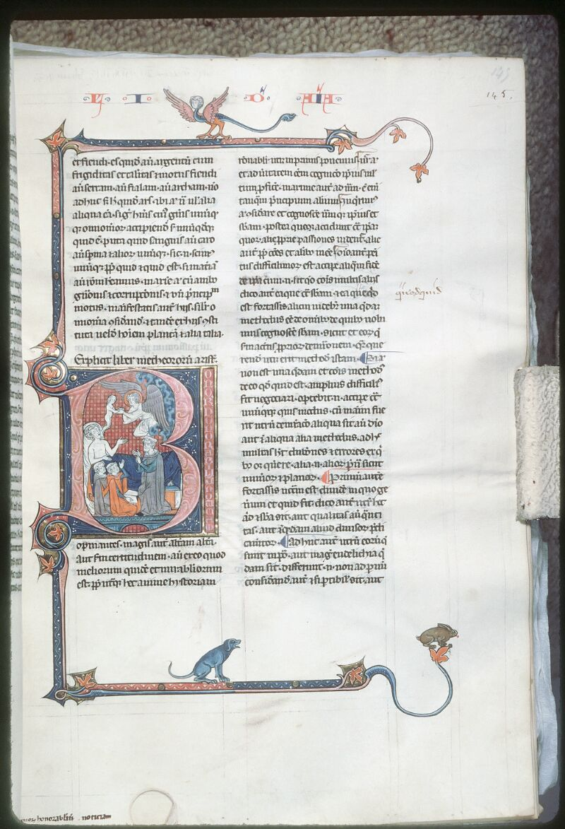 Tours, Bibl. mun., ms. 0679, f. 145 - vue 1