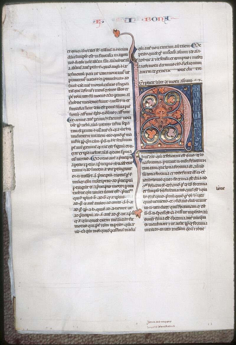 Tours, Bibl. mun., ms. 0679, f. 190v
