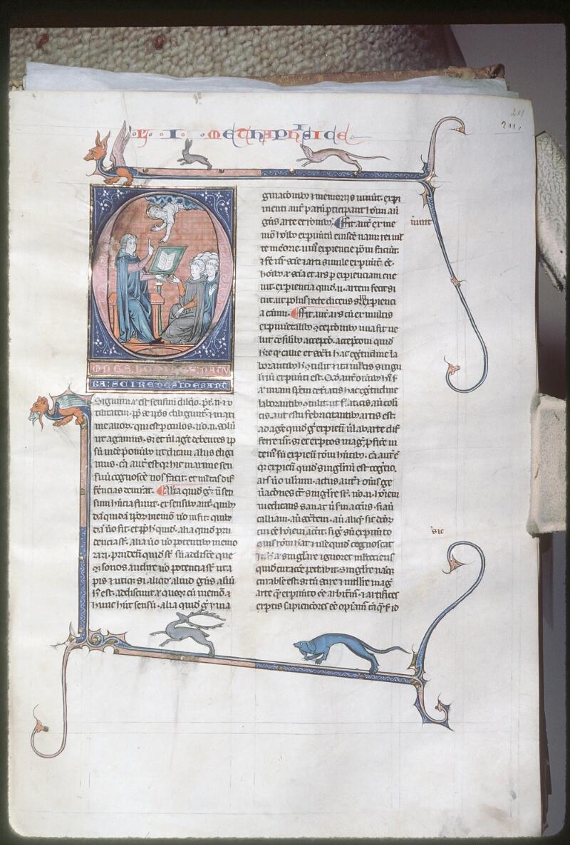 Tours, Bibl. mun., ms. 0679, f. 211 - vue 1