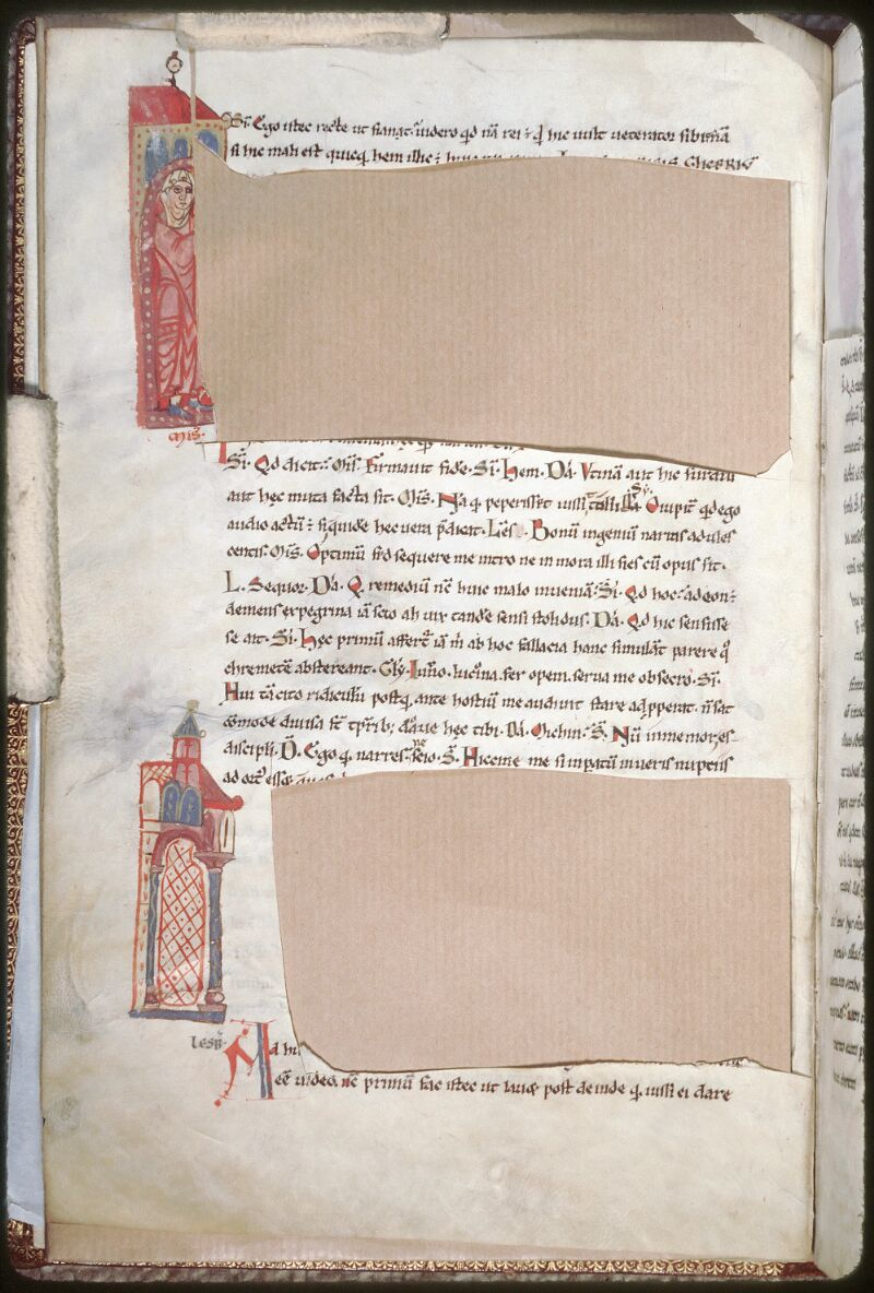 Tours, Bibl. mun., ms. 0924, f. 006v - vue 1