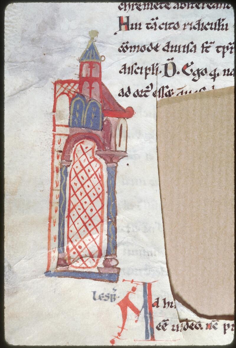 Tours, Bibl. mun., ms. 0924, f. 006v - vue 3