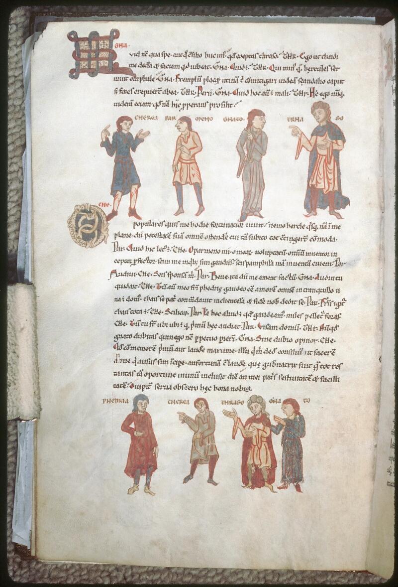 Tours, Bibl. mun., ms. 0924, f. 026v - vue 1