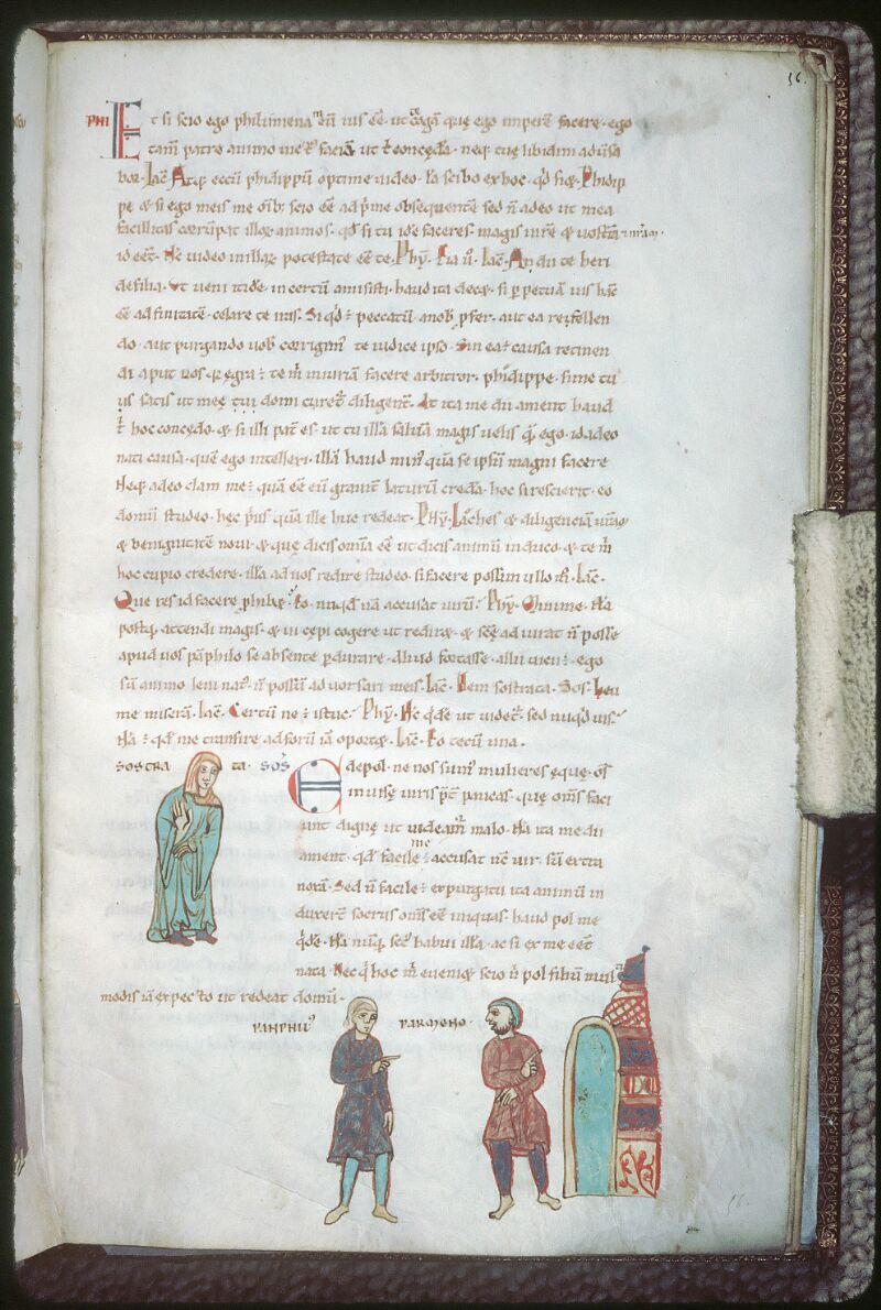 Tours, Bibl. mun., ms. 0924, f. 056 - vue 1