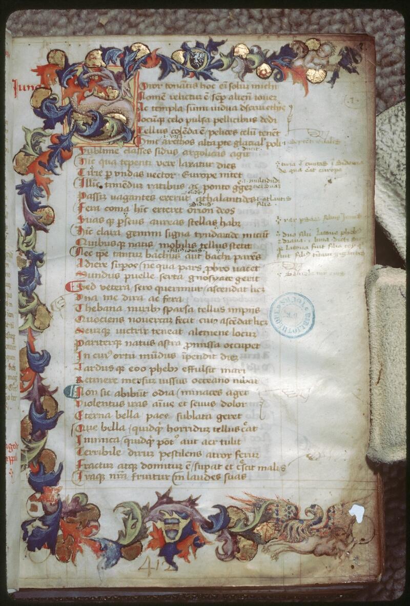 Tours, Bibl. mun., ms. 0926, f. 002 - vue 1