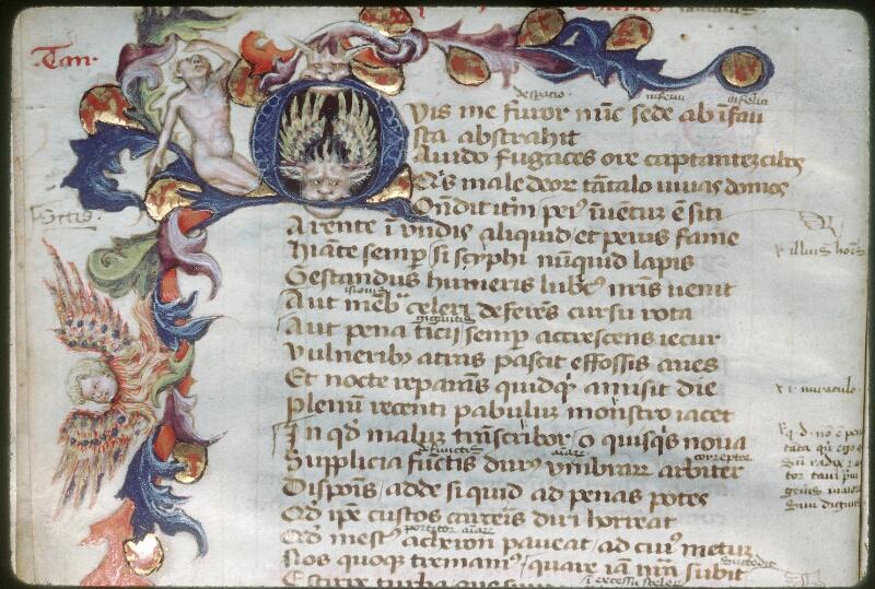 Tours, Bibl. mun., ms. 0926, f. 021v - vue 2