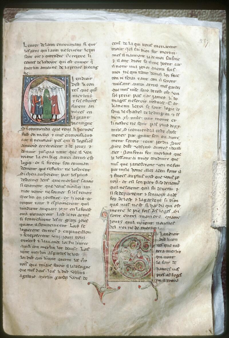 Tours, Bibl. mun., ms. 0951, f. 237 - vue 1