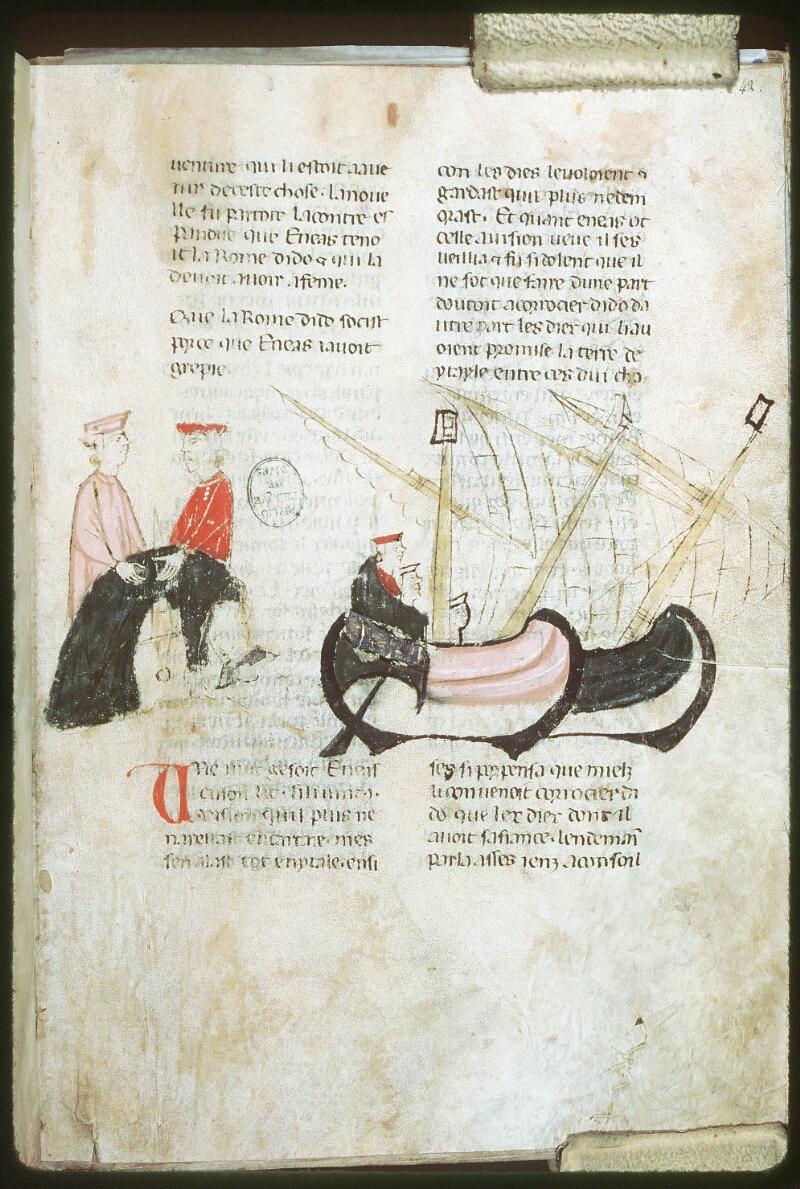 Tours, Bibl. mun., ms. 0953, f. 042 - vue 1