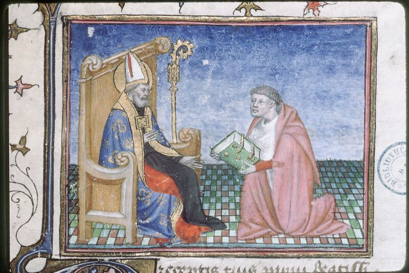 Tours, Bibl. mun., ms. 0973, f. 001 - vue 2
