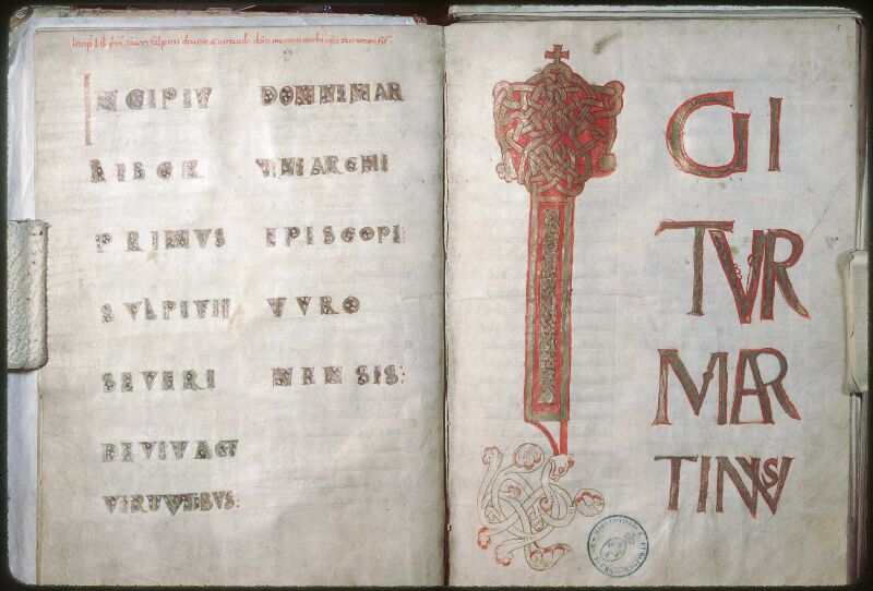 Tours, Bibl. mun., ms. 1019, f. 004v-005