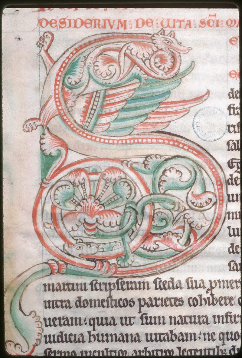 Tours, Bibl. mun., ms. 1020, f. 001 - vue 2