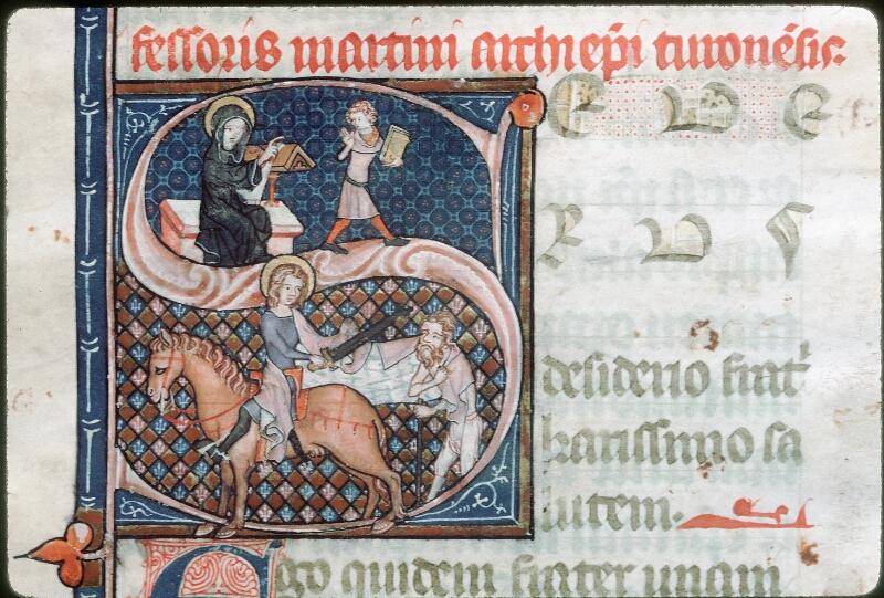 Tours, Bibl. mun., ms. 1023, f. 001 - vue 2