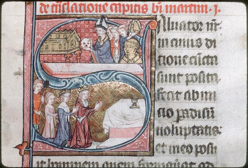 Tours, Bibl. mun., ms. 1023, f. 101 - vue 1