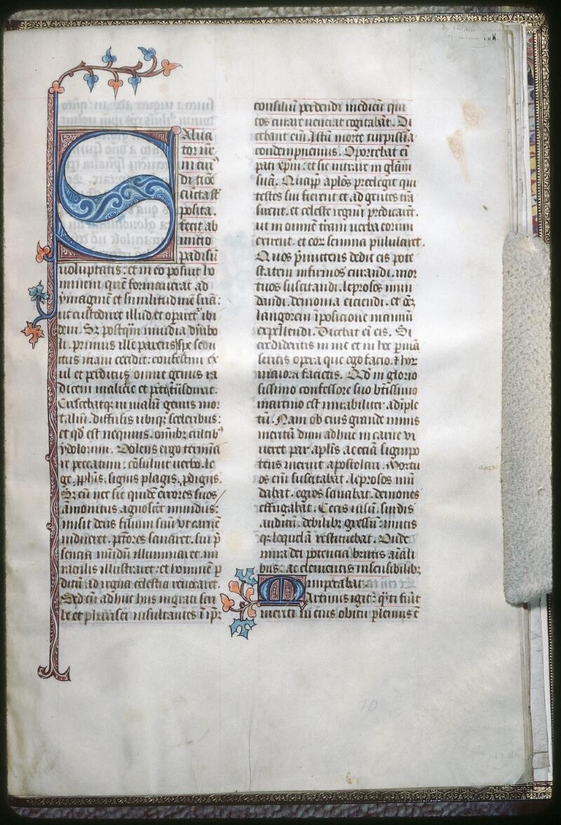 Tours, Bibl. mun., ms. 1023, f. 109