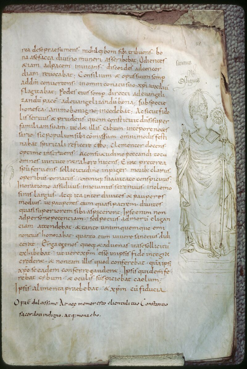 Tours, Bibl. mun., ms. 1028, f. 032 - vue 1