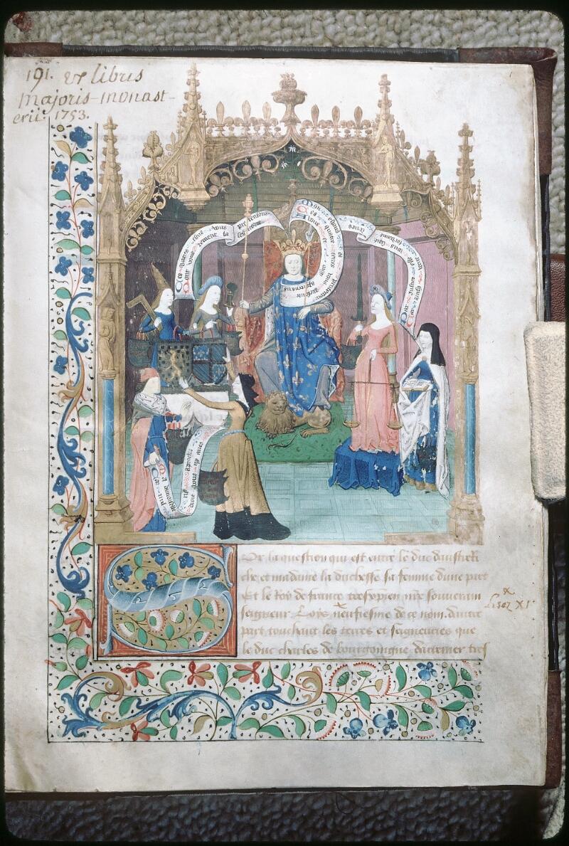 Tours, Bibl. mun., ms. 1047, f. 001 - vue 1