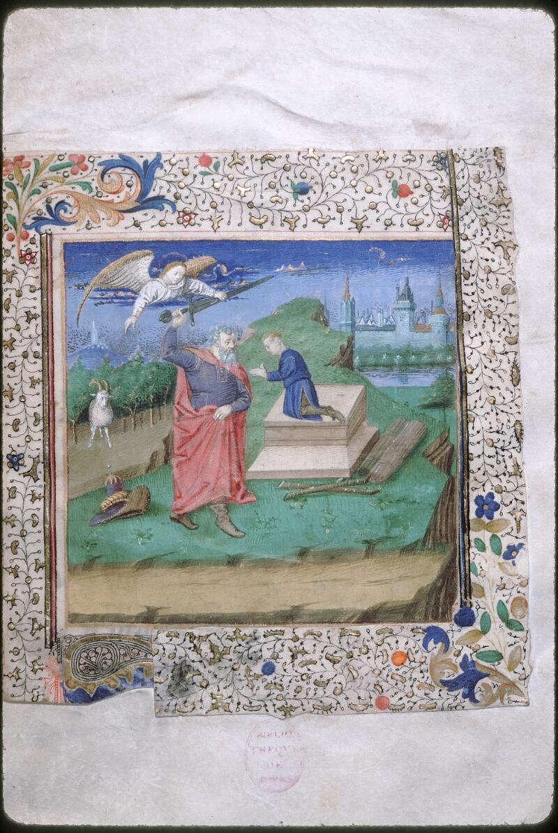 Tours, Bibl. mun., ms. 1850, f. 001 - vue 1