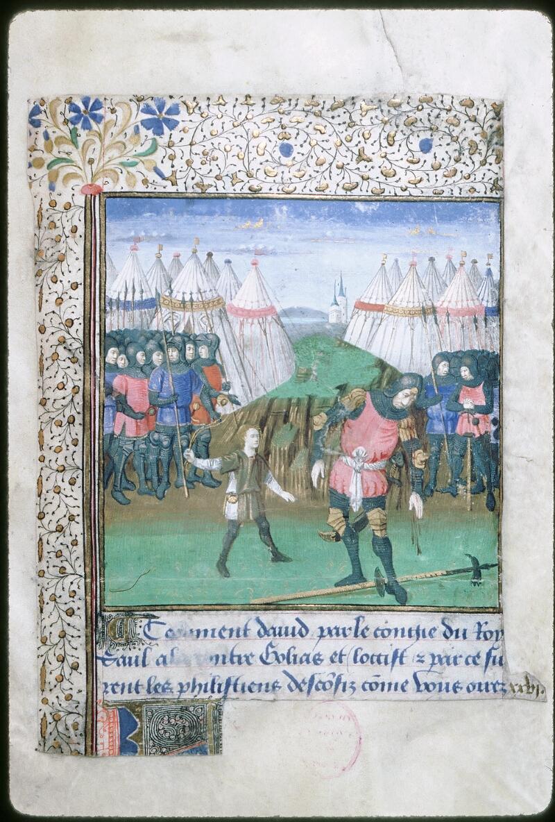 Tours, Bibl. mun., ms. 1850, f. 002 - vue 1