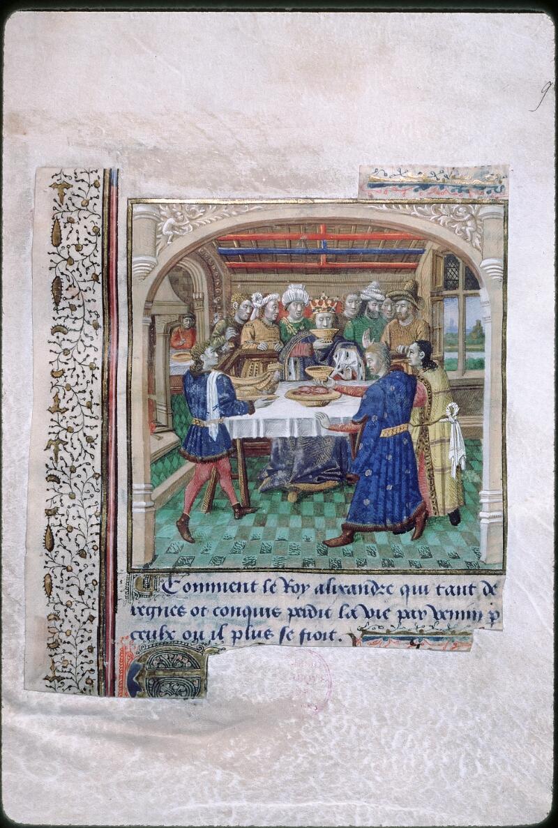 Tours, Bibl. mun., ms. 1850, f. 009 - vue 1