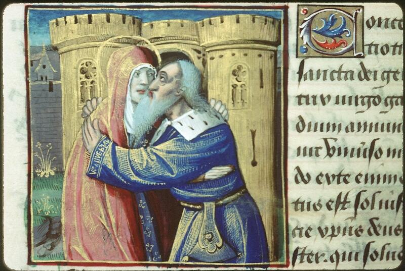 Tours, Bibl. mun., ms. 2104, f. 129v - vue 1