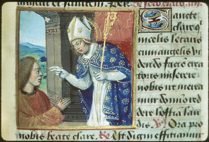 Tours, Bibl. mun., ms. 2104, f. 171 - vue 1