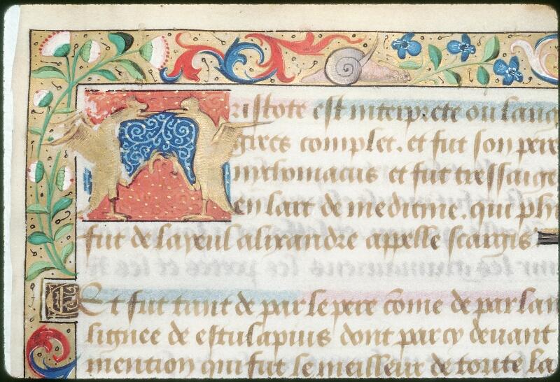 Tours, Bibl. mun., ms. 2109, f. 001 - vue 2