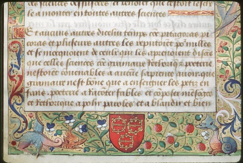 Tours, Bibl. mun., ms. 2109, f. 001 - vue 3