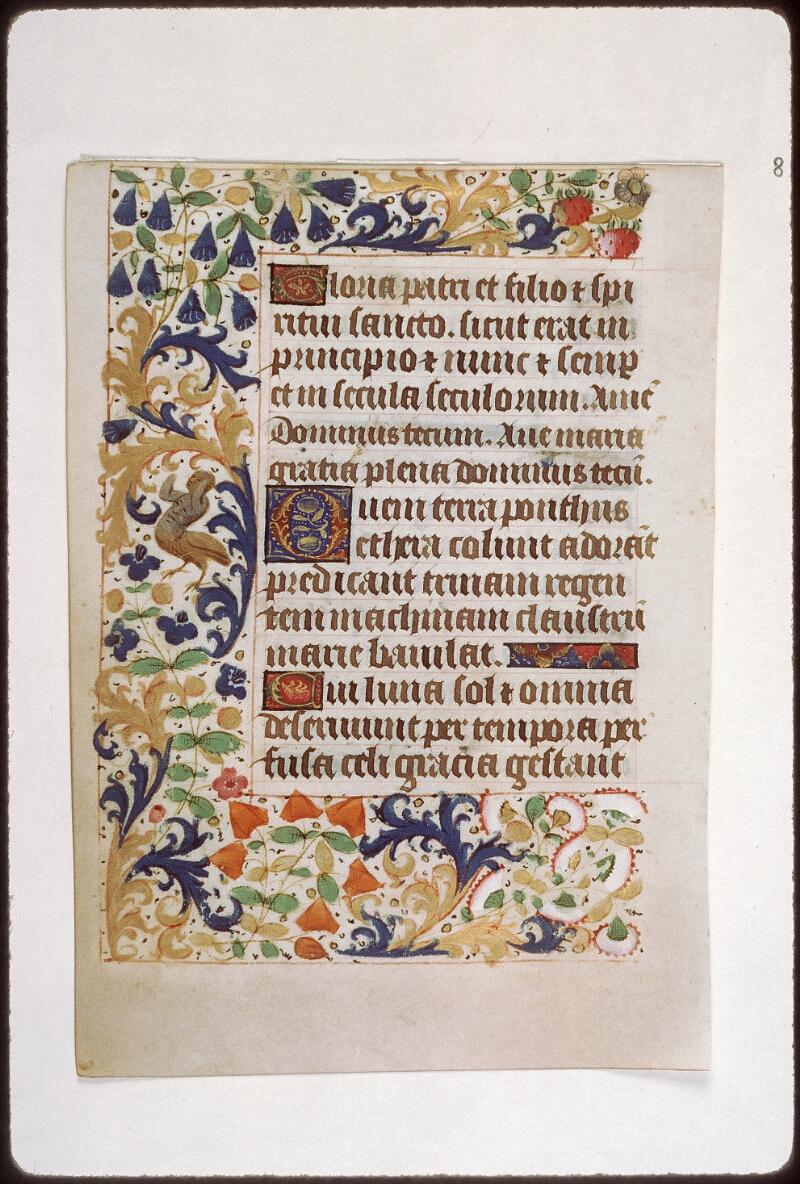 Tours, Bibl. mun., ms. 2273 A, f. 003v - vue 1