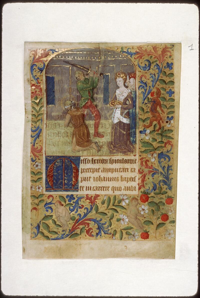 Tours, Bibl. mun., ms. 2273 A, f. 036 - vue 2