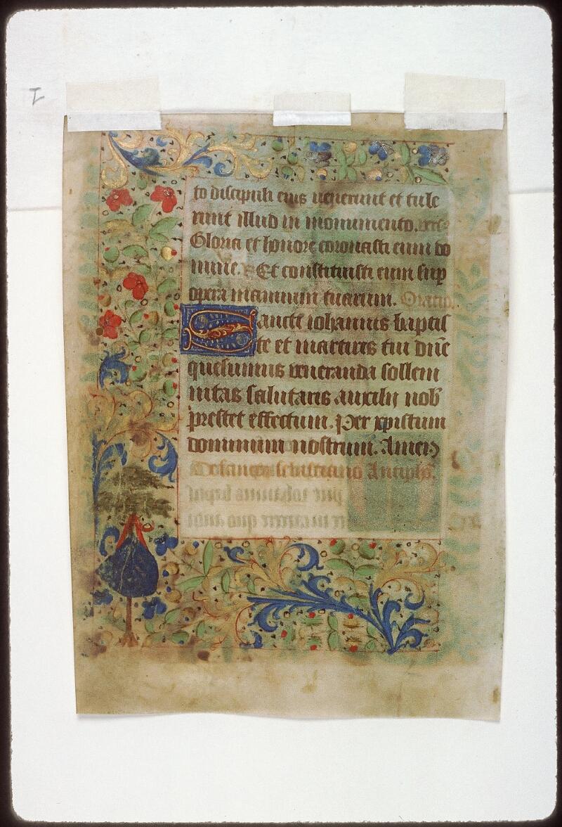 Tours, Bibl. mun., ms. 2273 A, f. 036v - vue 1