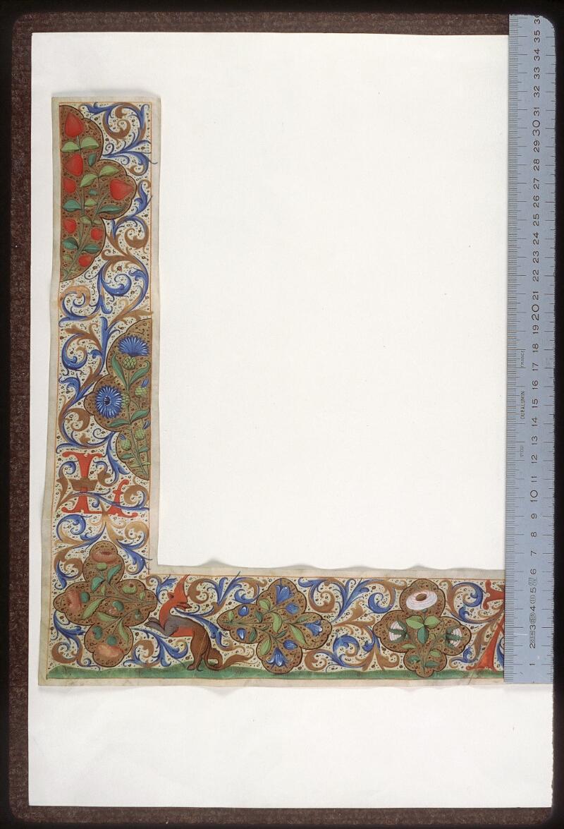 Tours, Bibl. mun., ms. 2273 C, recto - vue 1