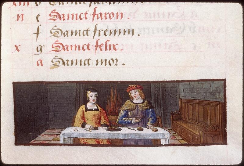 Tours, Bibl. mun., ms. 2283, f. 001 - vue 3