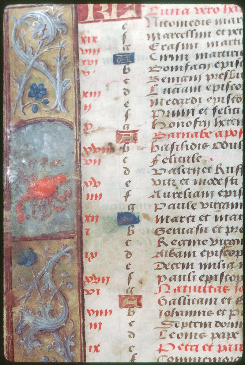 Tours, Bibl. mun., ms. Diocèse 05, f. 002v
