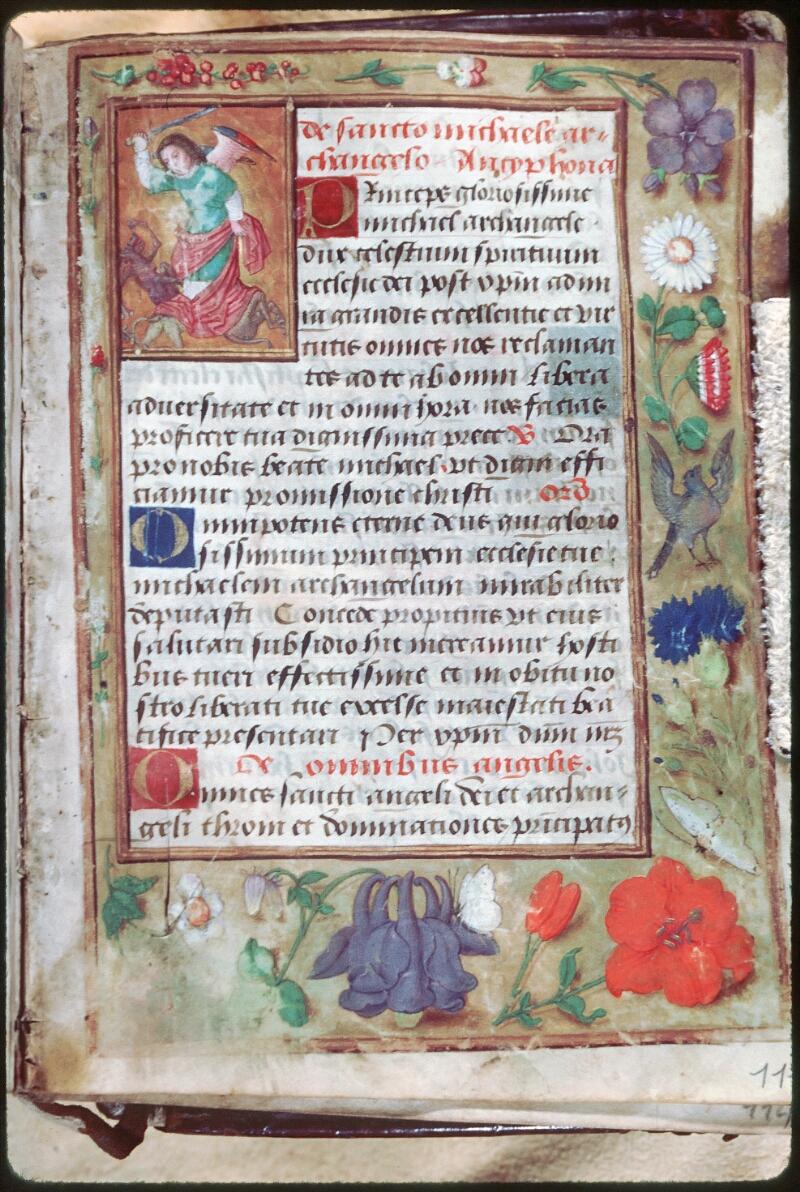 Tours, Bibl. mun., ms. Diocèse 05, f. 111 - vue 1
