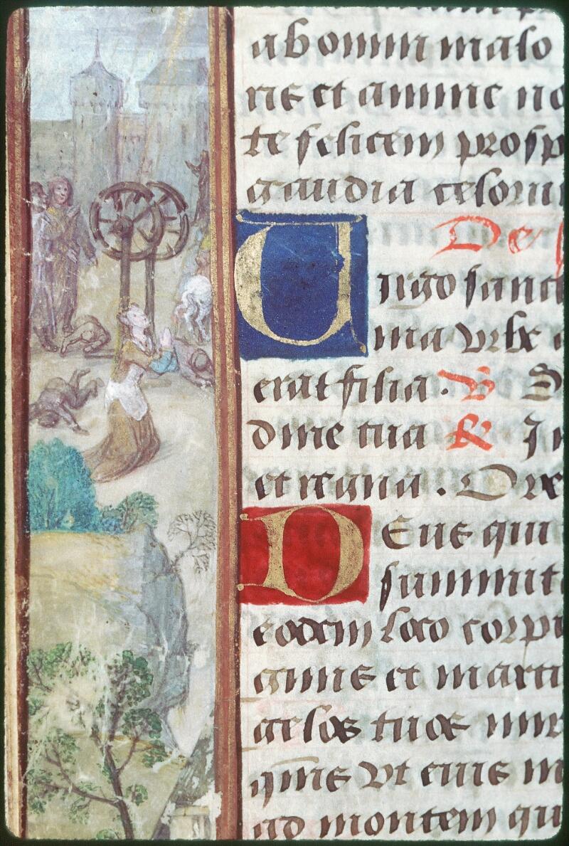 Tours, Bibl. mun., ms. Diocèse 05, f. 124v - vue 1