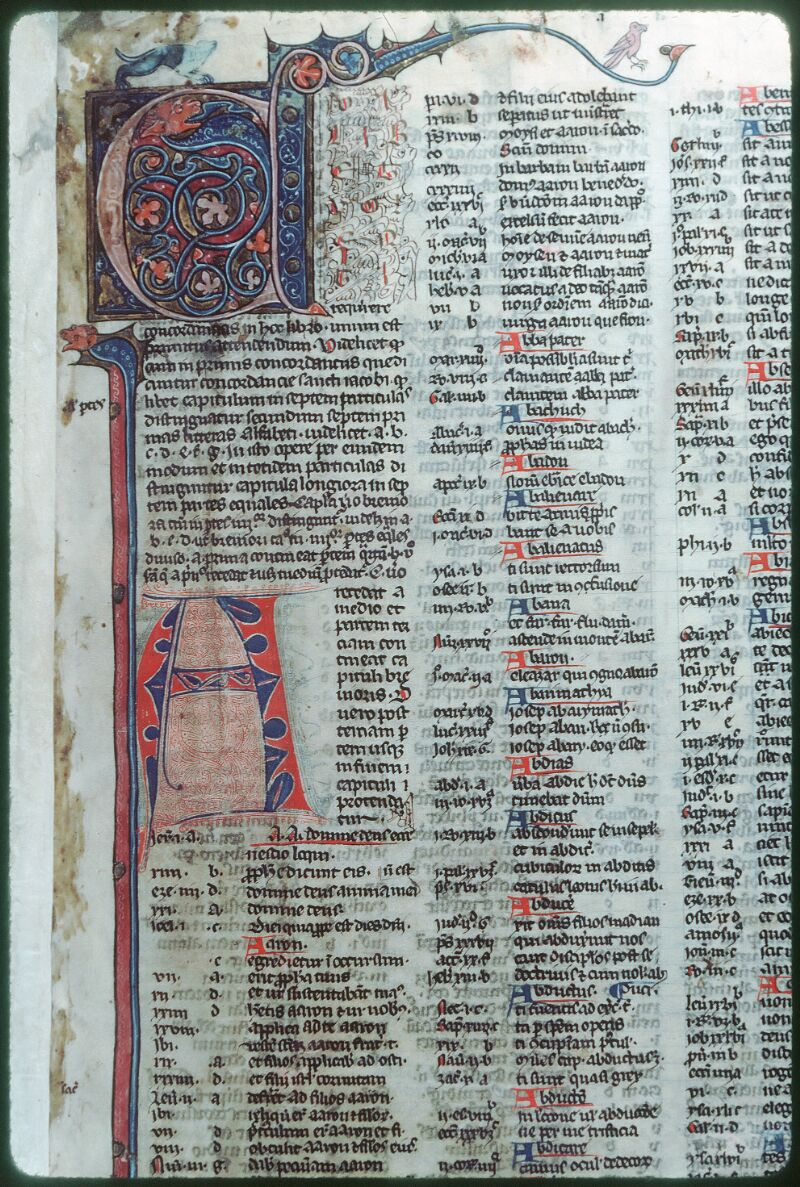 Tours, Bibl. mun., ms. Diocèse 07, f. 001 - vue 2