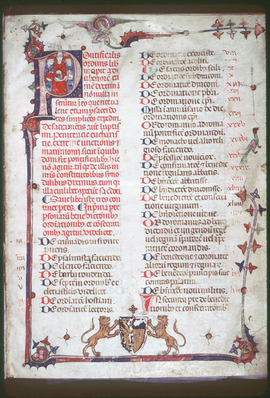 Tours, Bibl. mun., ms. Diocèse 08, f. 001 - vue 1