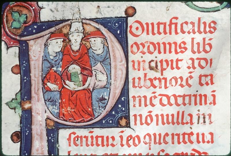 Tours, Bibl. mun., ms. Diocèse 08, f. 001 - vue 2
