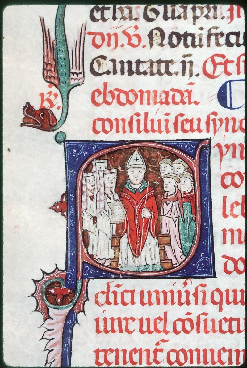 Tours, Bibl. mun., ms. Diocèse 08, f. 127 - vue 2