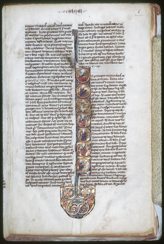 Tours, Bibl. mun., ms. 0003, f. 006 - vue 1