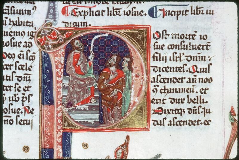 Tours, Bibl. mun., ms. 0008, f. 099v - vue 1