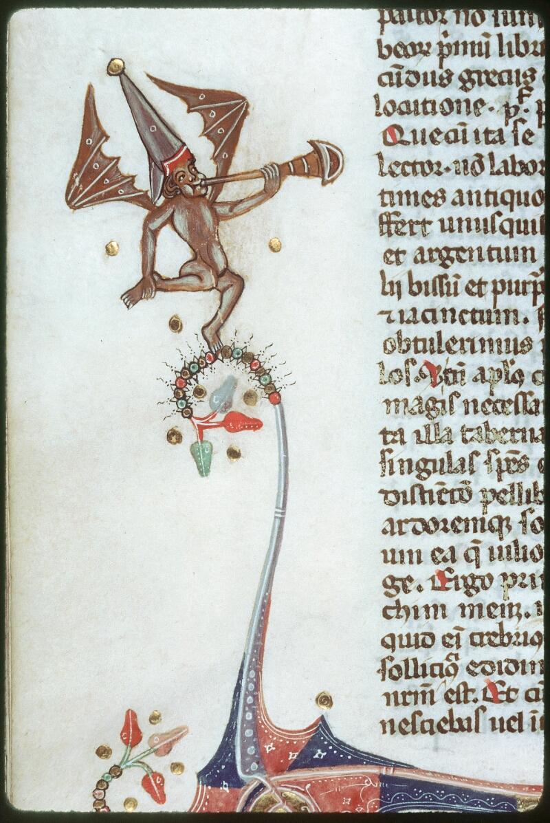 Tours, Bibl. mun., ms. 0008, f. 112v - vue 2
