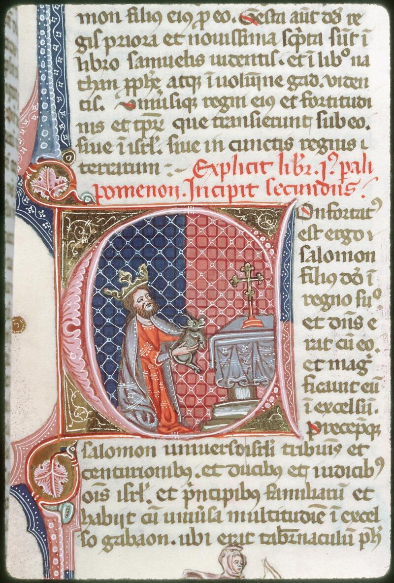 Tours, Bibl. mun., ms. 0008, f. 189 - vue 1