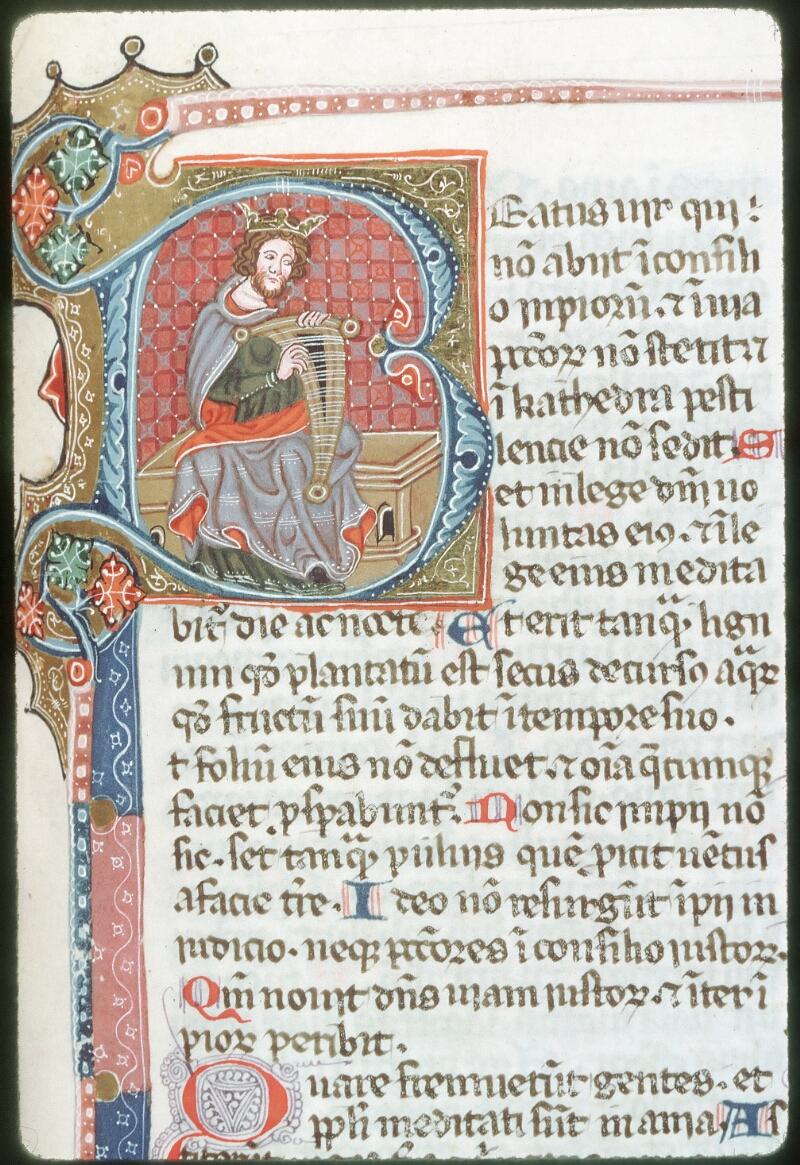 Tours, Bibl. mun., ms. 0008, f. 232 - vue 1