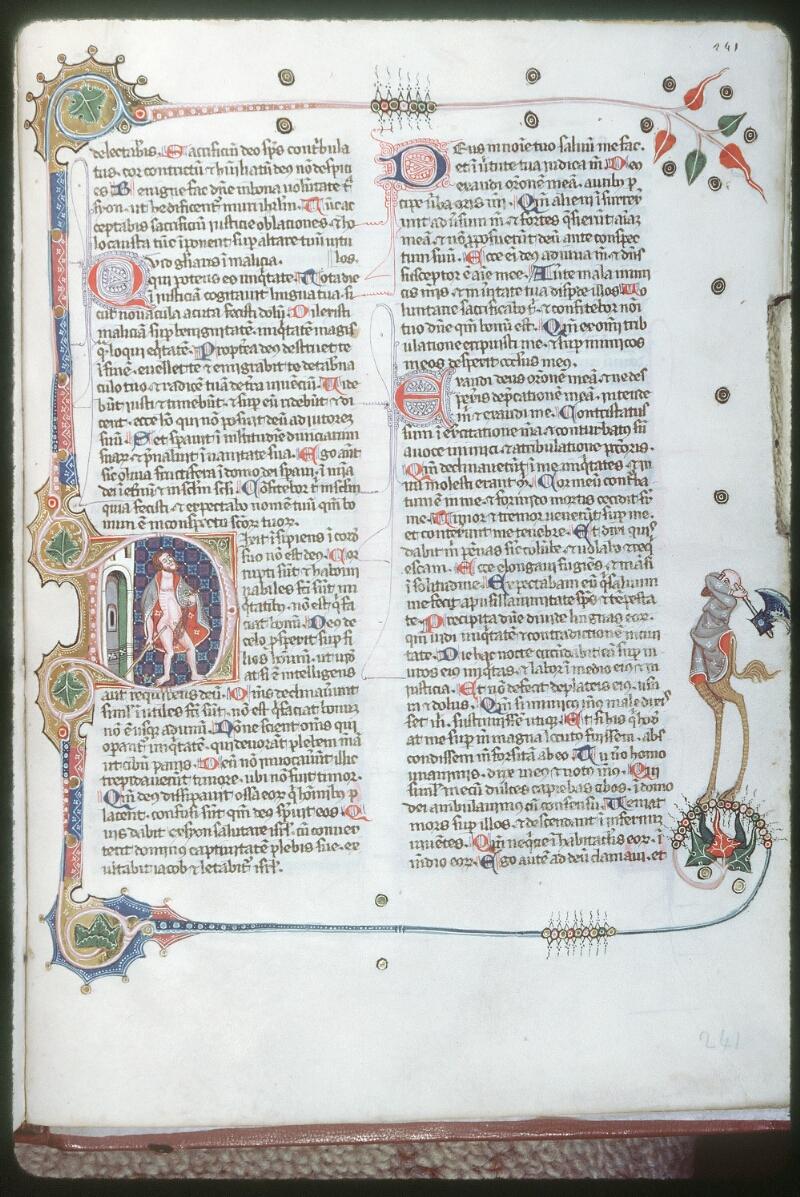 Tours, Bibl. mun., ms. 0008, f. 241 - vue 1