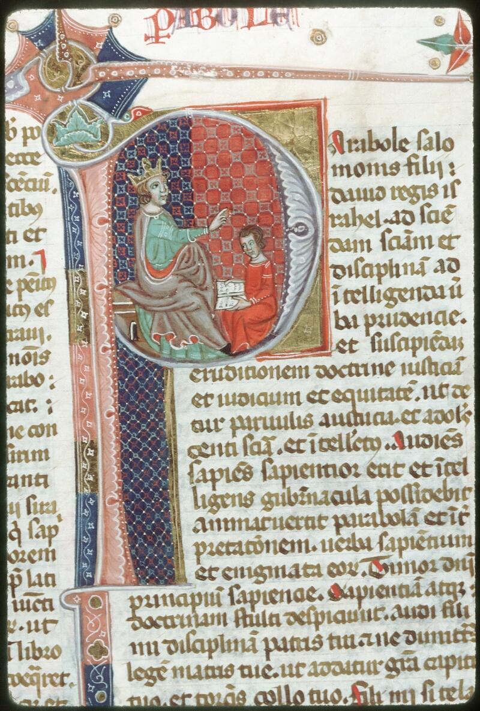 Tours, Bibl. mun., ms. 0008, f. 283 - vue 1