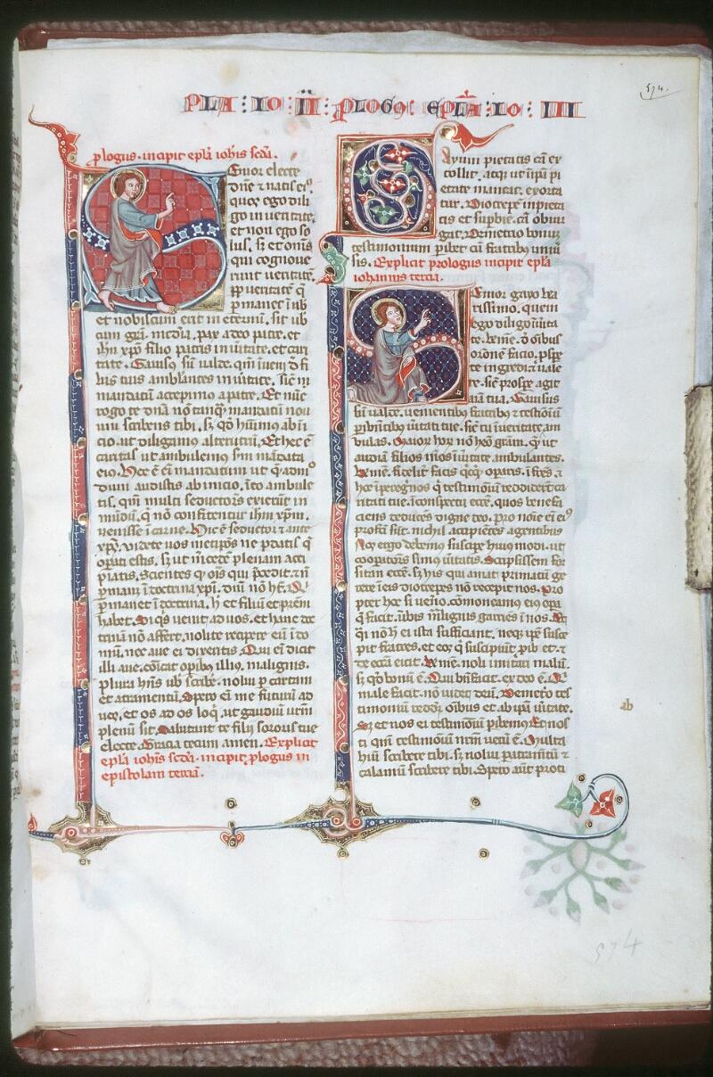 Tours, Bibl. mun., ms. 0008, f. 574