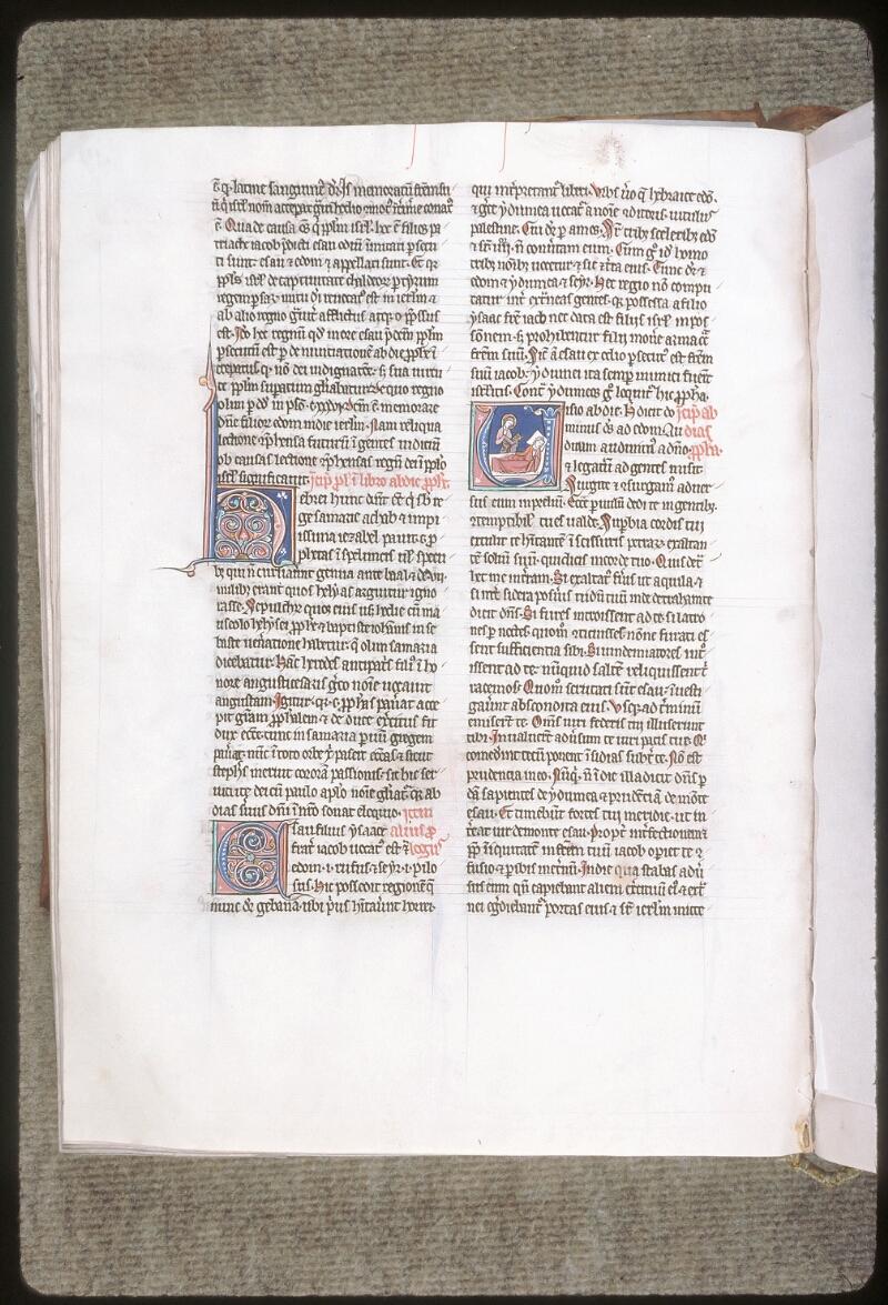 Tours, Bibl. mun., ms. 0011, f. 127v - vue 1