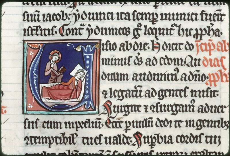 Tours, Bibl. mun., ms. 0011, f. 127v - vue 2