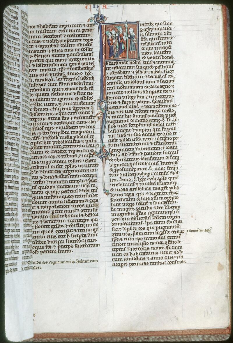 Tours, Bibl. mun., ms. 0013, f. 111 - vue 1