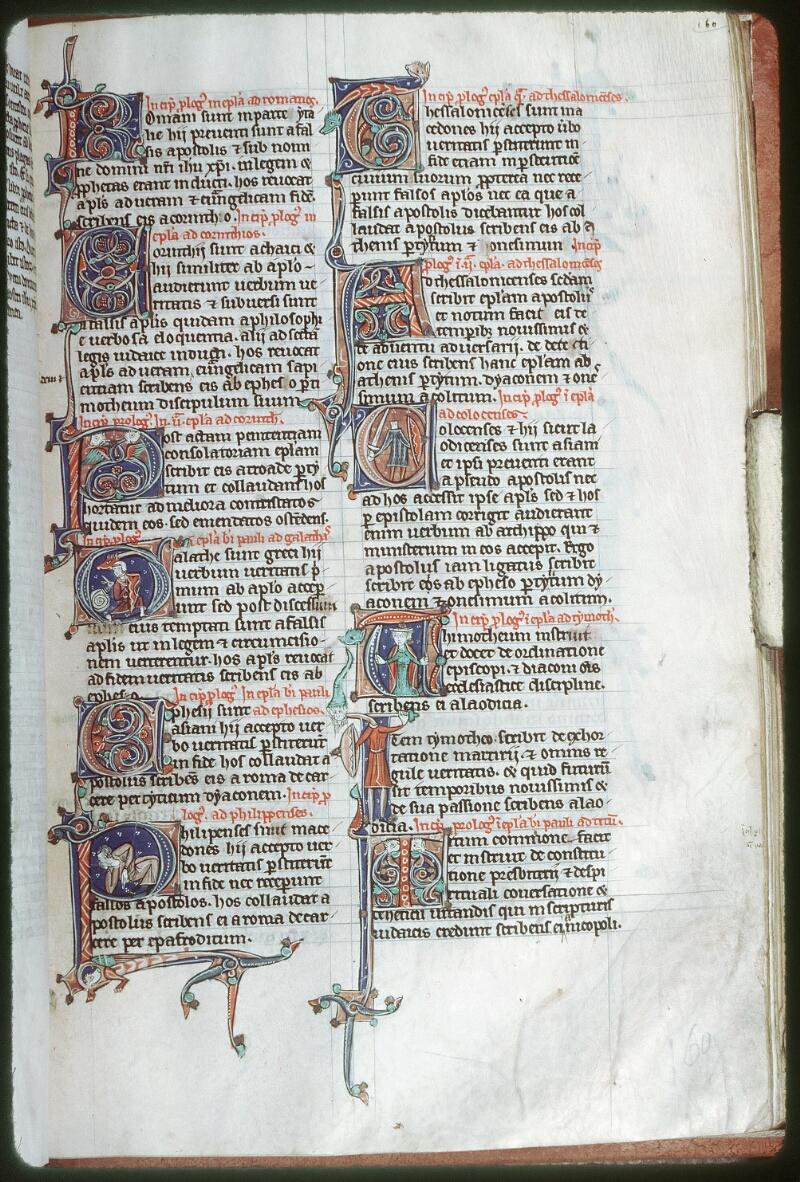 Tours, Bibl. mun., ms. 0013, f. 160 - vue 1